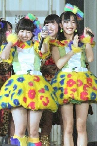 朝長美桜、田島芽瑠、脚の太さ