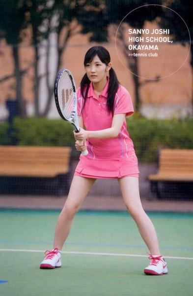 渡辺麻友、テニス
