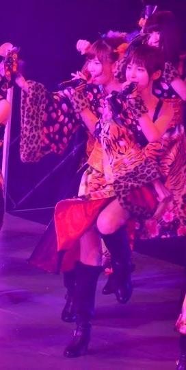 篠田麻里子、和服、歌う