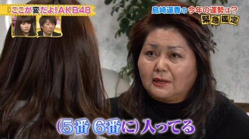 島崎遥香、テレビ占い、諸喜田