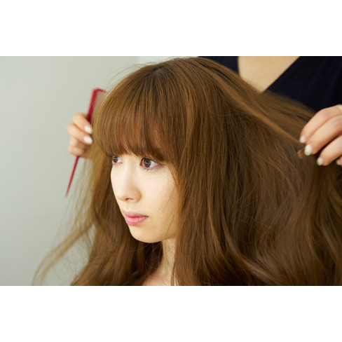 小嶋陽菜、髪