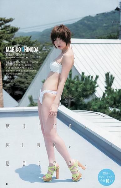 篠田麻里子、白水着、ビキニ