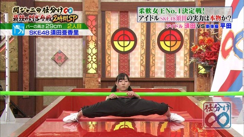 須田亜香里、関ジャニの仕分け、柔軟、優勝36