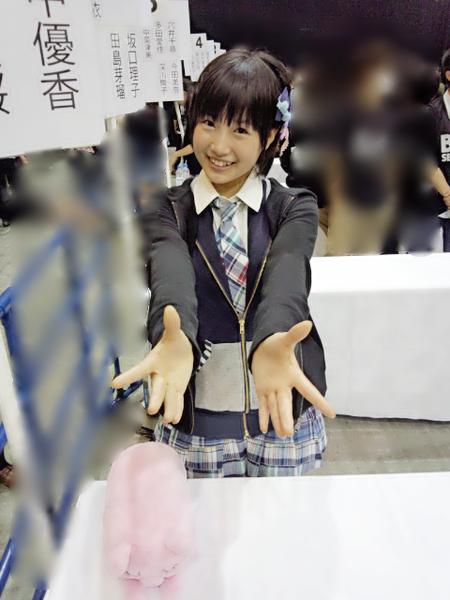 朝長美桜-握手会ぶたしゃん
