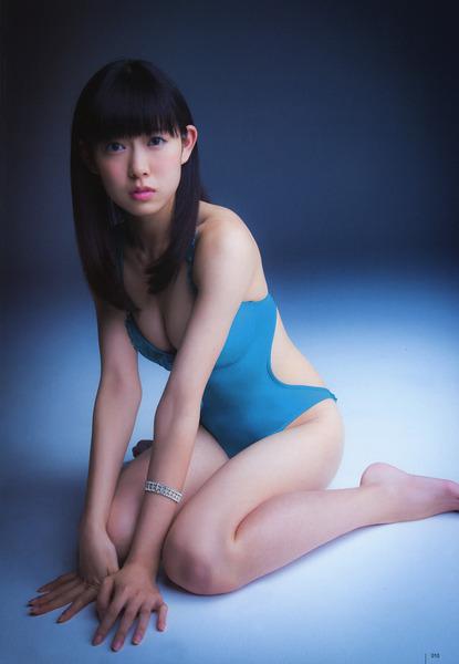 渡辺美優紀、utb、青、水着3