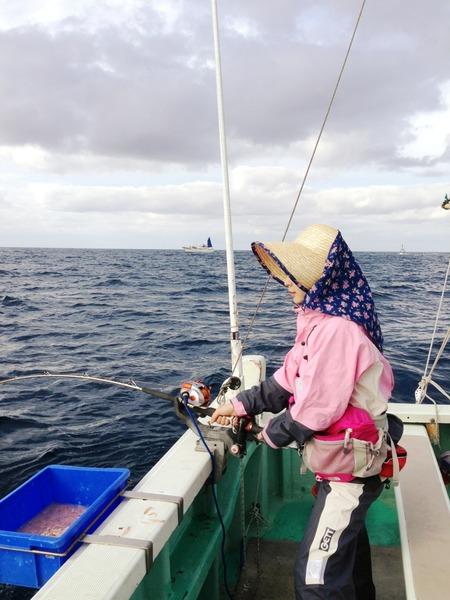 加藤るみ、船釣り、農家のおばちゃん風