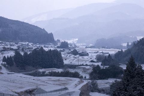 久万高原冬-1