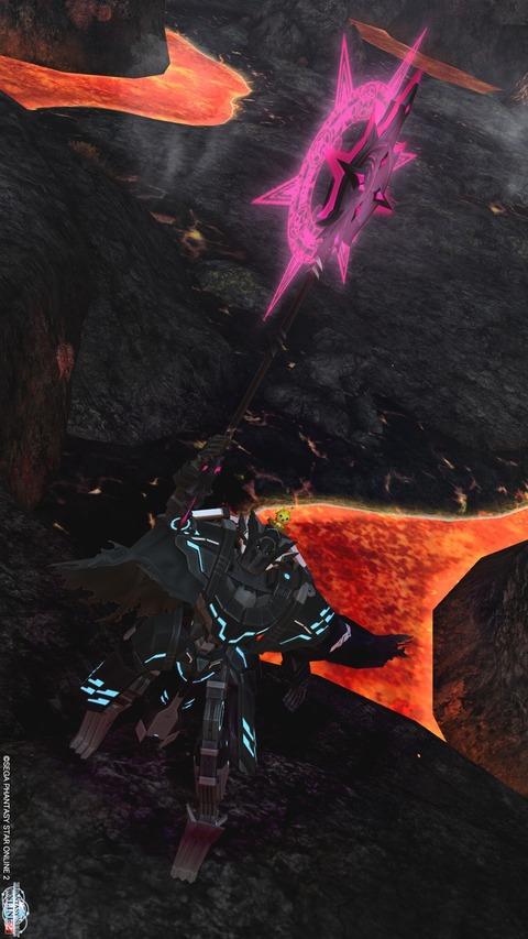 火山洞窟でΣp[【◎】]ω・´)