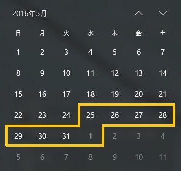 リリチブースト期間(イメージ)
