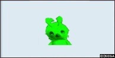 緑のラッピーさん