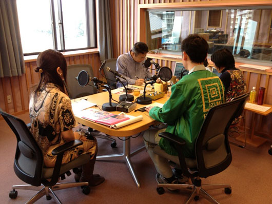 20130316KBSラジオ本番中
