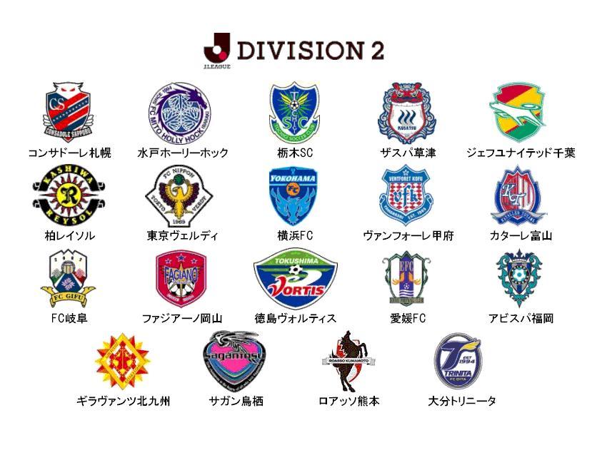 2010年のJリーグ ディビジョン2