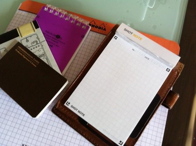 ビジネスパーソンの必需品「メモ帳」について書いてみた