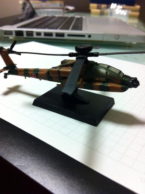 あぁ、また UCC の戦略にハマる「陸自の翼 ヘリコプターコレクション」