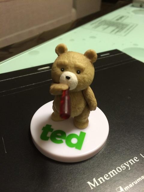 あの「エロ熊」が家にやって来た! 「 ted メモリアルフィギュアコレクション」