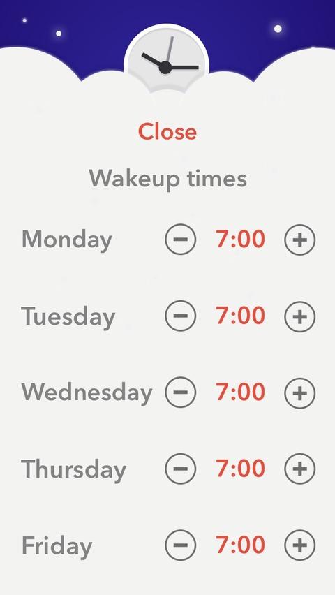 まるでオカンのような iOSアプリ「to bed」