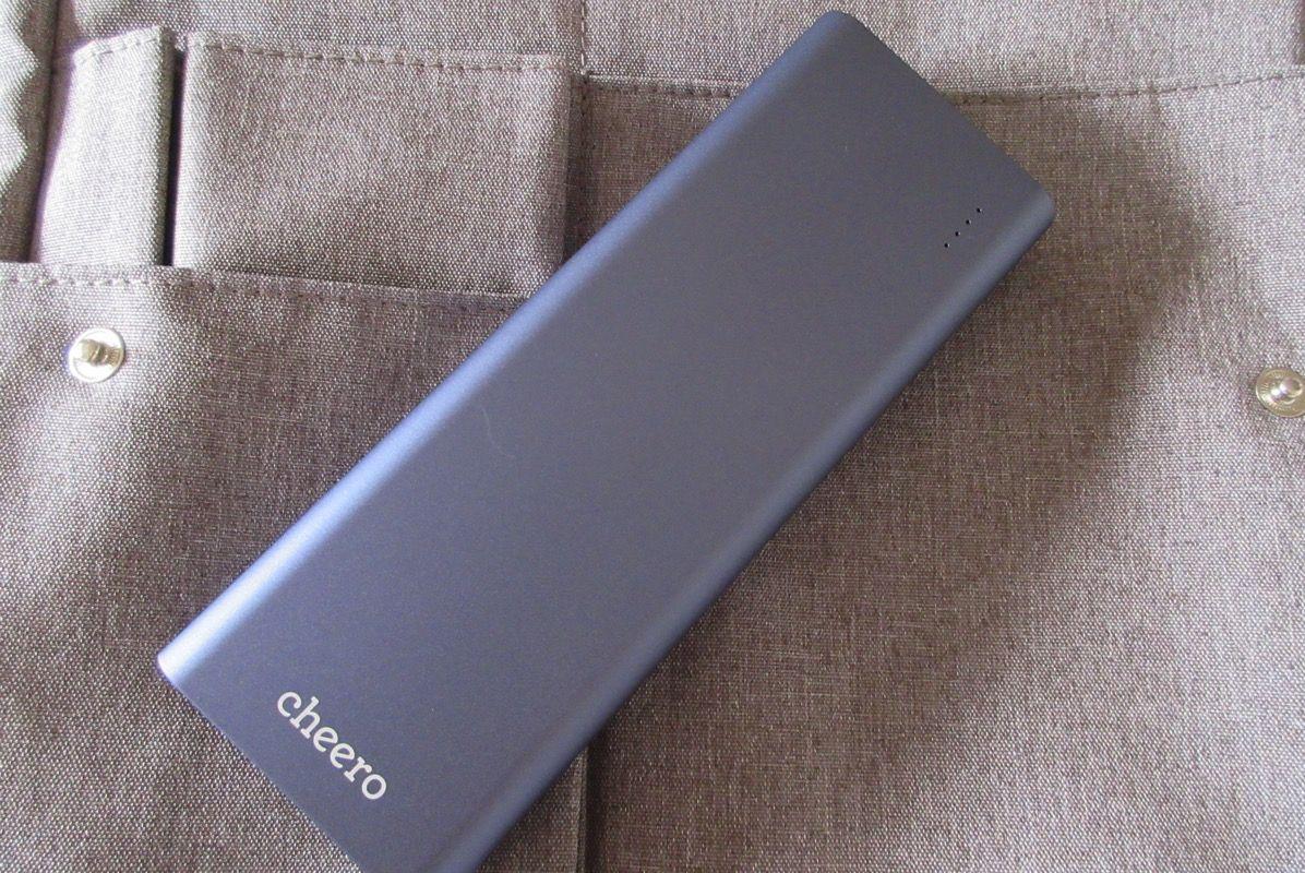 これを待っていたんだ!cheero さんから PD対応のモバイルバッテリー登場! cheero「Power Deluxe 20100mAh」