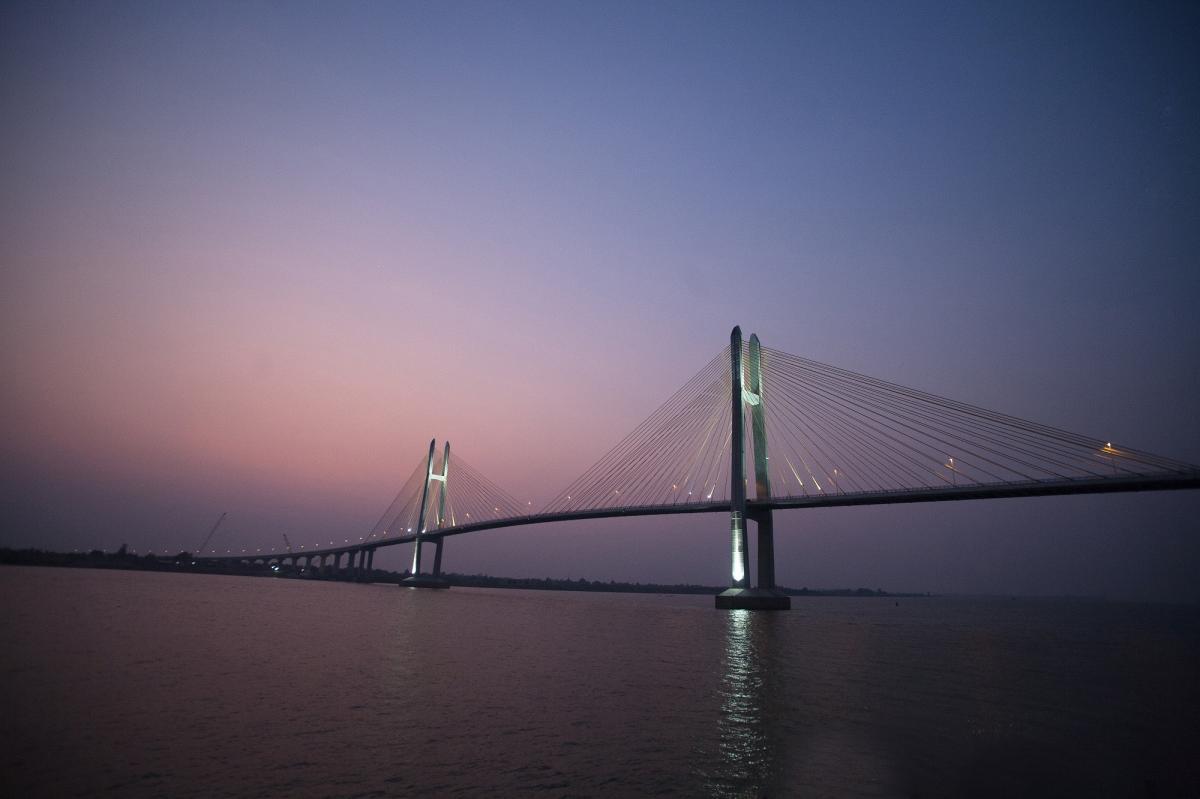レックの色々日記Cambodia inaugurates Japan-funded bridge across Mekong River