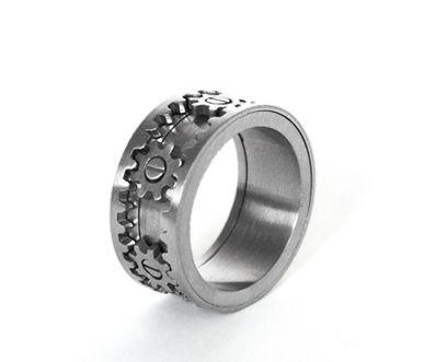 インタラクティブな歯車指輪