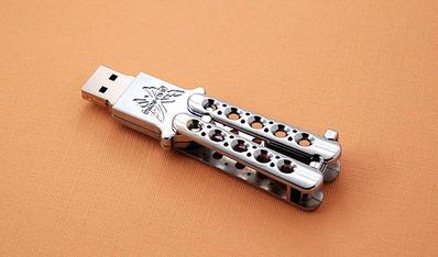 バタフライ・USBメモリ
