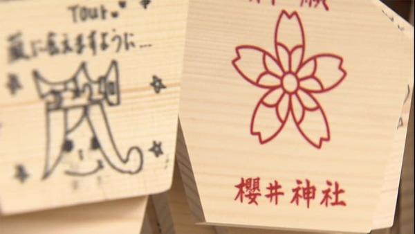 「桜井神社」で嵐ファンの女性に暴行