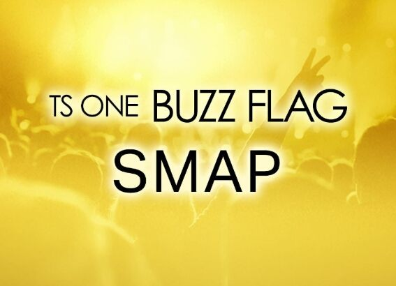 TS ONE BUZZ FLAG SMAP