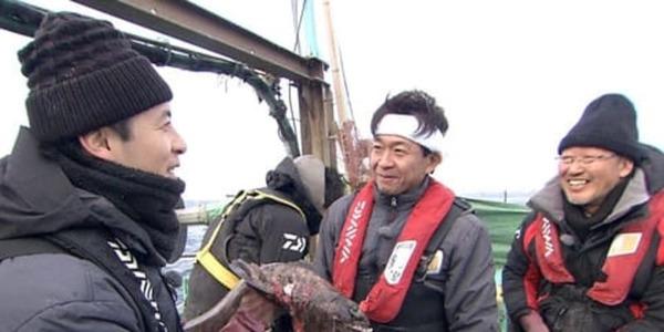TOKIO城島が古代ザメ「ラブカ」東京湾で再び捕獲