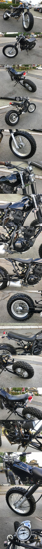 ヤマハTW200黒