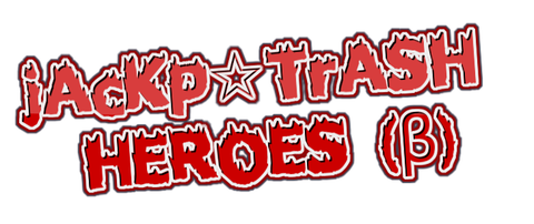 jAcKp☆TrASH HEROESロゴ