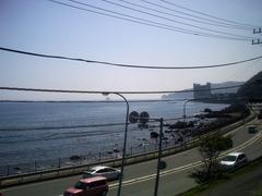 AGFAPHOTO sensor 505-E×車窓からの海
