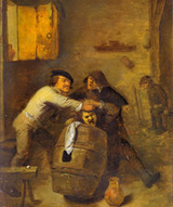 peasants_brawling_in_a_tavern