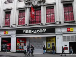 Virgin Megastore @Tottenham Court Road