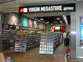 Virgin Megastore @Heathrow