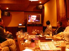 2005年11月19日 ULTRAVOX OFF会 1次会