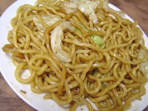 川越太麺やきそば