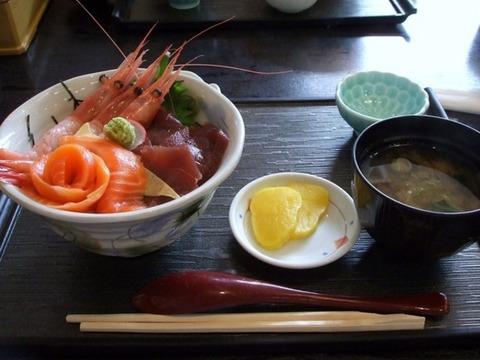 海鮮丼北海道