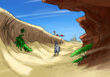 砂漠ラフイメージ_20081204_1