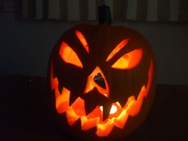 Scary Jack o'Lantern 2012
