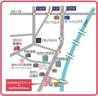 ジャムホームエステート地図