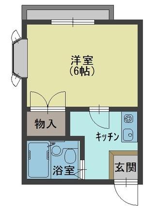 大川邸1R