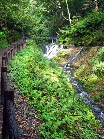 白糸の滝遊歩道