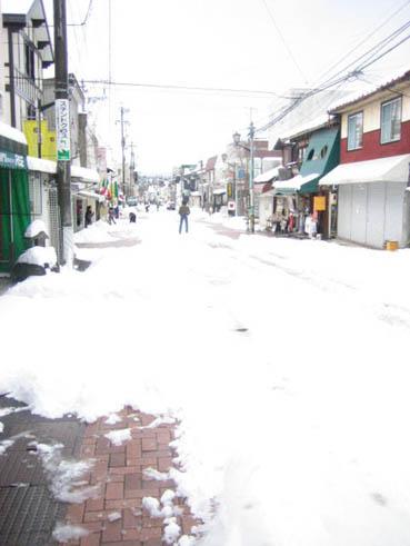 軽井沢春雪