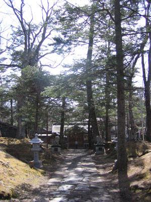 軽井沢 諏訪神社3