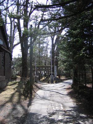 諏訪神社 軽井沢