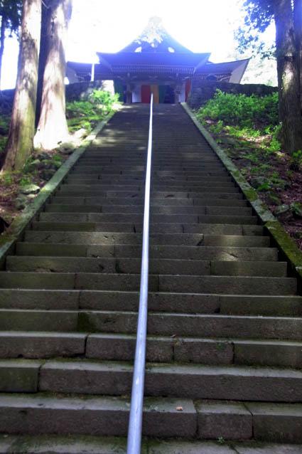 真楽寺階段
