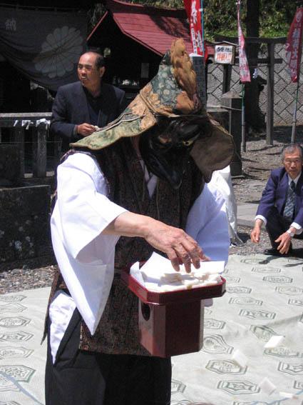 軽井沢熊野神社春のお祭り