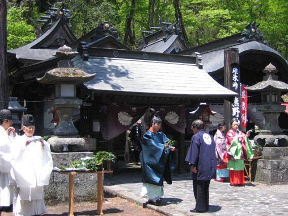 軽井沢 熊野神社
