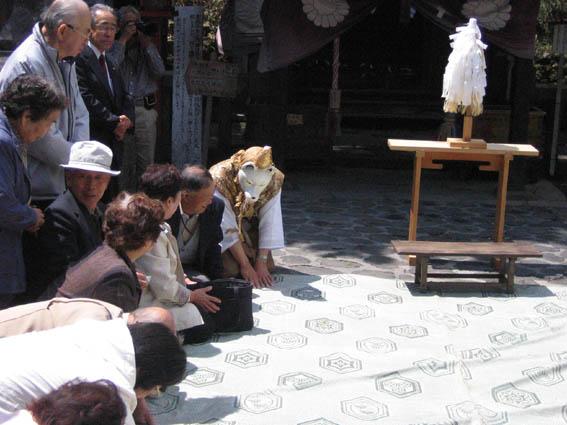 熊野神社春のお祭り