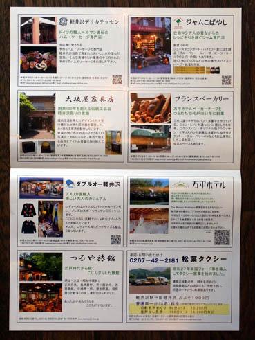 軽井沢地図内側