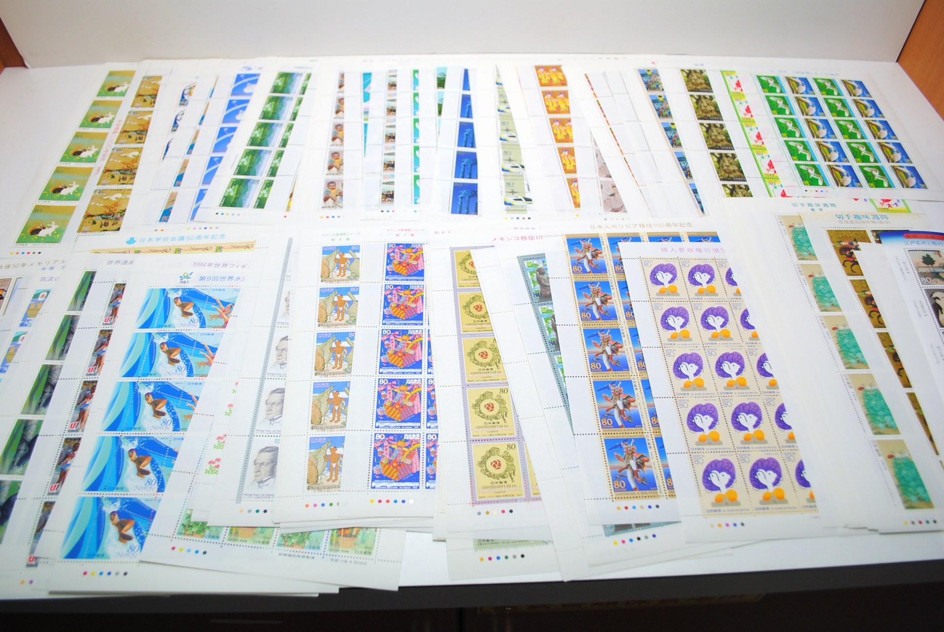 89702b92ed2f 現在ジャム鳥取店では高価買取をさせて頂いていますシートの切手はもちろん、バラの切手も大歓迎! 昭和20年以前の切手も鑑定できます。